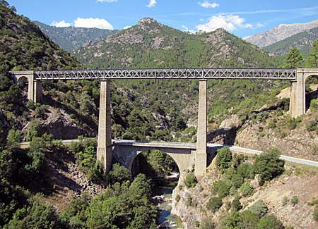 Korsika - Ponte du Vecchio bei Vivario
