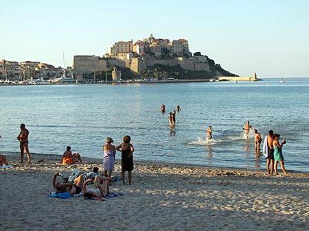 Korsika - Calvi - Zitadelle aus dem 15. Jahrhundert
