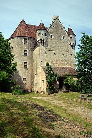 Frankreich - Normandie - Perche - Manoir de Courboyer