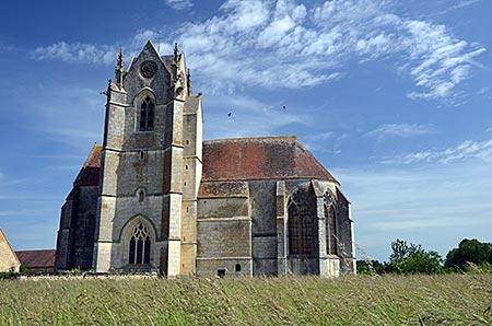 Frankreich - Normandie - Perche - Prieuré Sainte-Gauburge