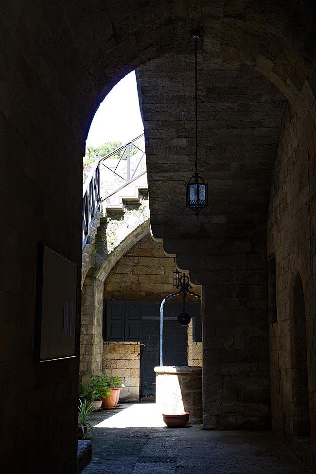 Rhodos Stadt - Straße der Ritter
