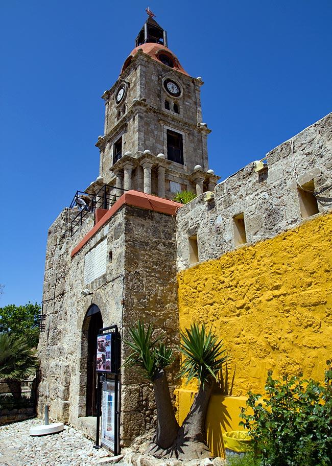 Rhodos Stadt - Uhrturm