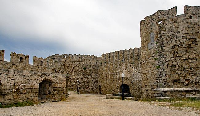 Rhodos Stadt - Paulus-Bastion (Pili Agios Pavlos)