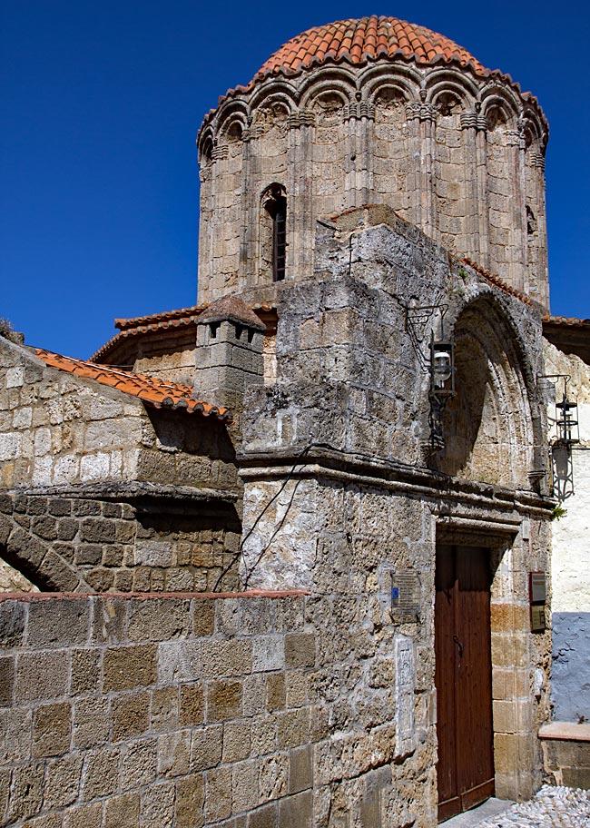 Rhodos Stadt - Kirche von St. George