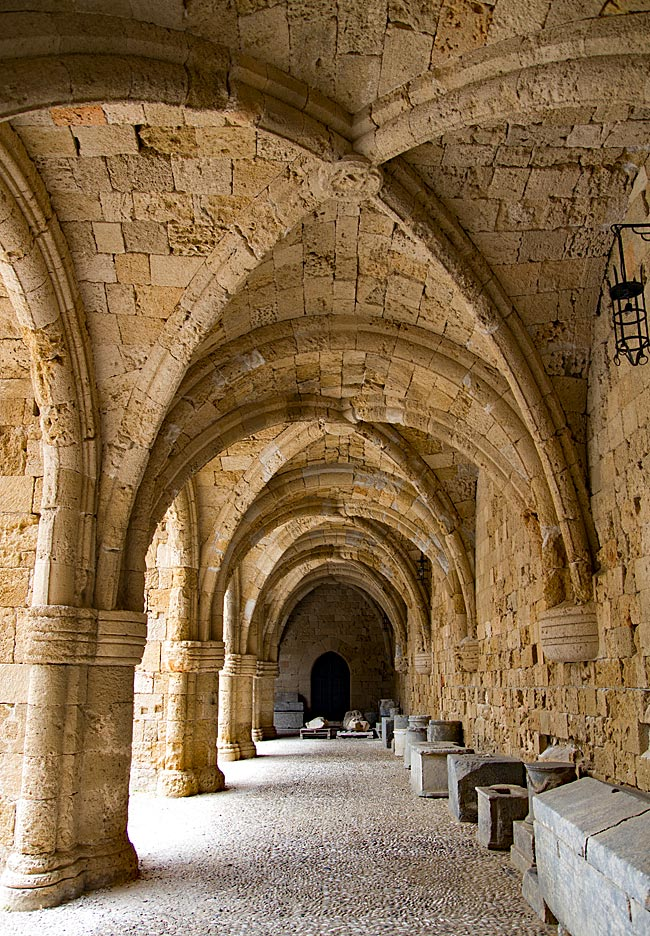 Rhodos Stadt - Archäologische Museum