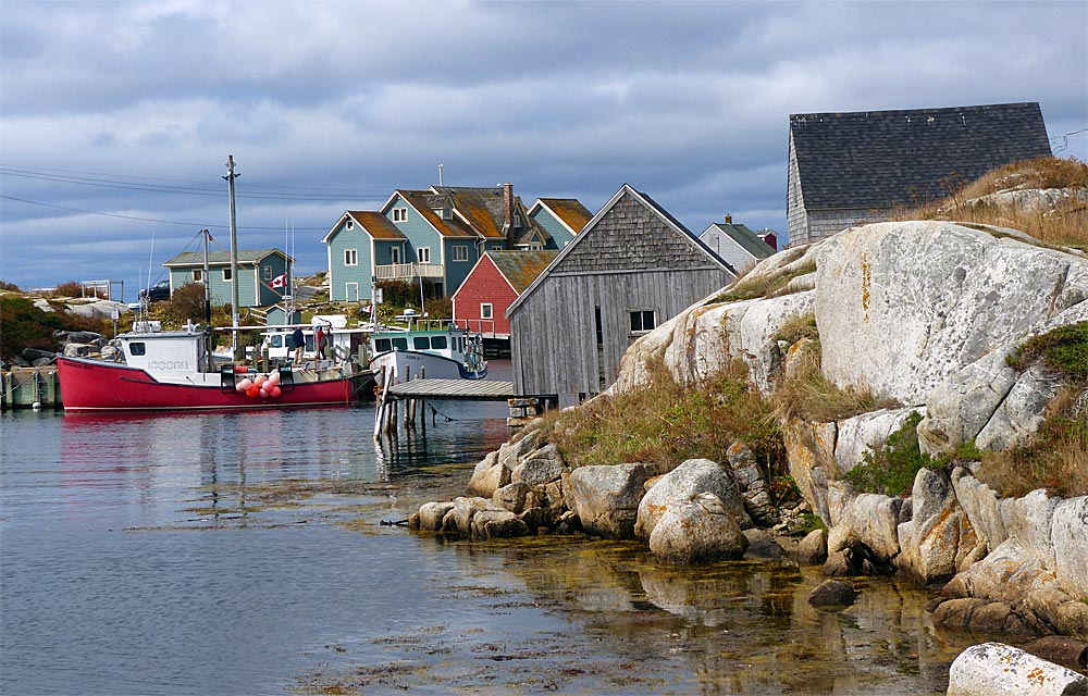 Peggy's Cove in Nova Scotia, Kanada