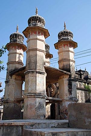 Indien - Wasserstelle in Navalgarh