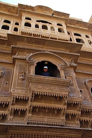 Indien - Nathmal Ki Haveli in Jaisalmer