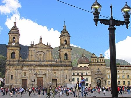 Kolumbien - Bogota - Kathedrale am Hauptplatz