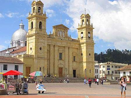 Kolumbien - Basilika in Chiquinquirá