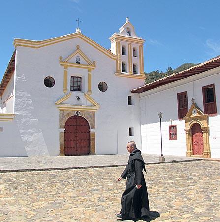 Kolumbien - Monasterio de Nuestra Señora de la Candelaria