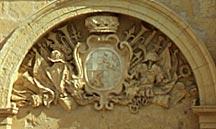 Malta - Mdina - Wappen des Großmeisters Vilhena