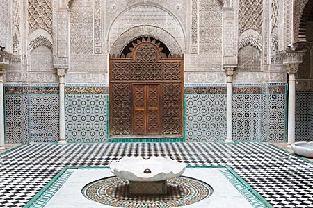Marokko - Medersa Attarine in der Altstadt von Fes
