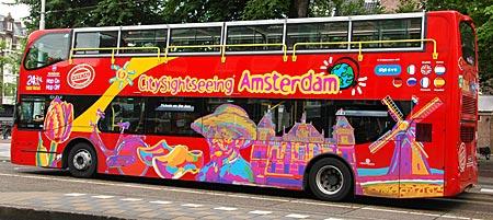 Niederlande - Amsterdam - Sightseeing Bus