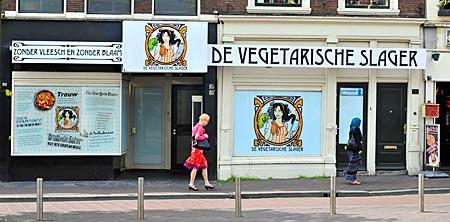 Niederlande - Den Haag - Vegetarischer Metzger in Den Haag