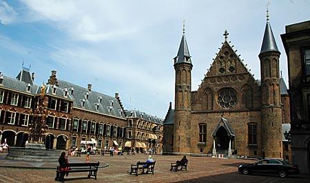 Niederlande - Den Haag - Im Innenhof des Parlaments