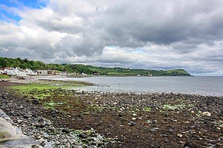 Nordirland - Die Küste von Antrim hinter Larne