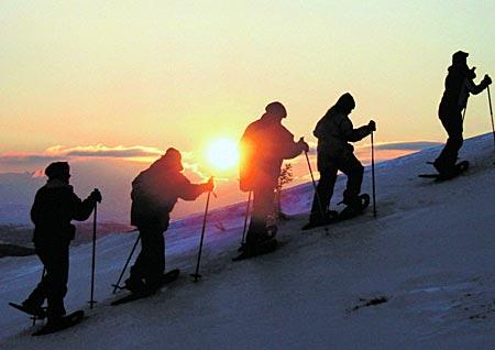 Norwegen - Schneeschuhwandern in Gala