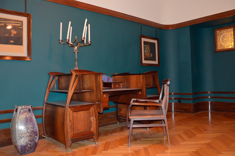 kunstgewerbemuseum trondheim in trondheim reisef hrer norwegen online. Black Bedroom Furniture Sets. Home Design Ideas