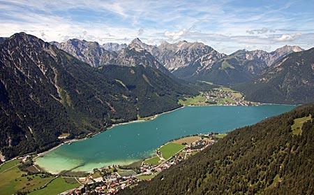 Österreich - Achensee - Tolles Panorama vom Flug aus