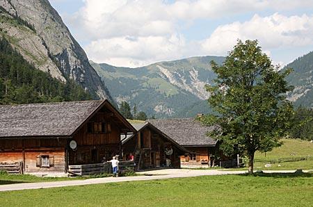 Österreich - Achensee - Impressionen Eng-Alm Großer Ahornboden