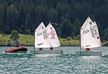 Österreich - Achensee - Segler auf dem See