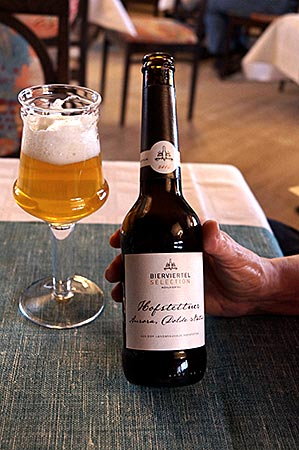 Steyr in Oberösterreich - Granitbier der Brauerei Hofstetten