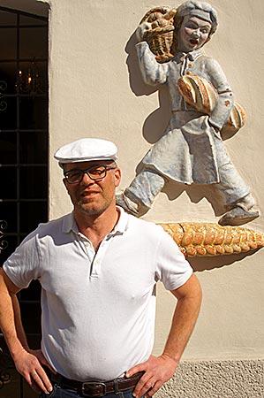 Steyr in Oberösterreich - Bäckermeister Rainer Fröhlich