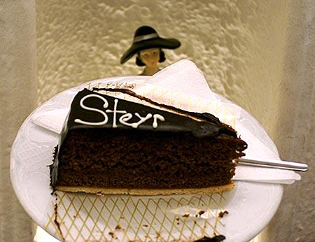 Steyr in Oberösterreich - Tortenschnitte