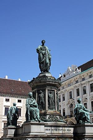 Wien - Denkmal Franz I.