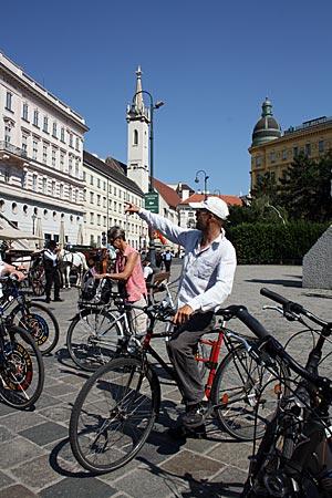 Wien mit dem Fahrrad