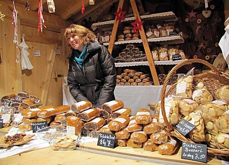 Österreich - St. Wolfgang - Stand auf dem Weihnachtsmarkt
