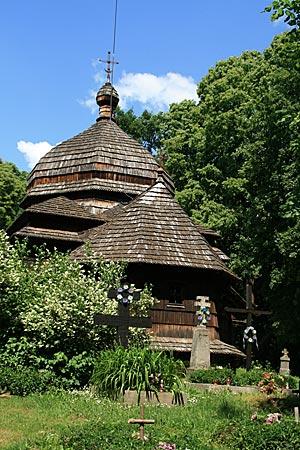 Polen - Waldkarpaten - Kirche von Ulucz