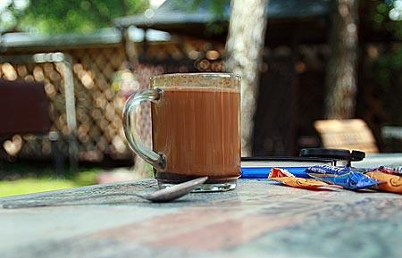 Polen - Waldkarpaten - Polnischer Kaffee