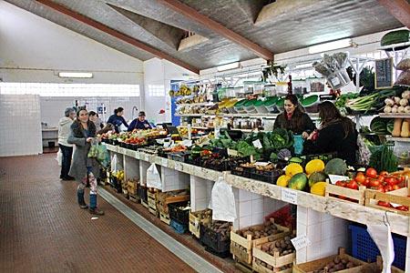 Portugal - Algarve - In der Markthalle von Vila do Bispo