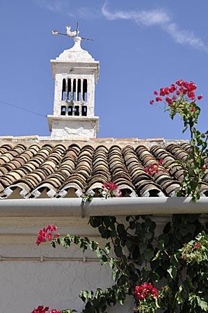 Portugal - Typischer Schornstein an der Algarve