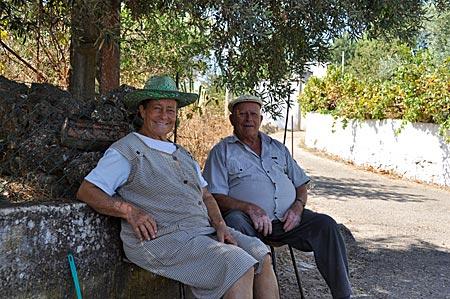 Portugal - Algarve - Dorfbewohner im Hinterland