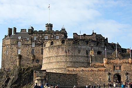 Schottland - Edinburgh - Königsschloss