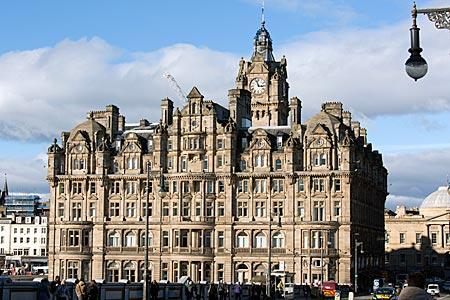Schottland - Balmoral Hotel in Edinburgh