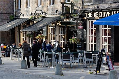 Schottland - The Behive Inn am Grassmarket in Edinburgh
