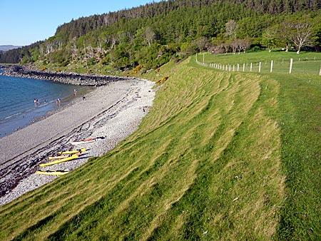 Schottland - auf der Insel Raasay