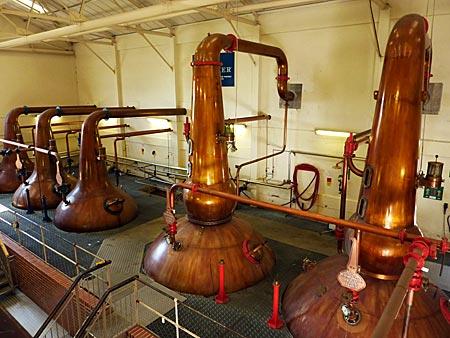 Schottland - Ilse of Skye - Destillerie