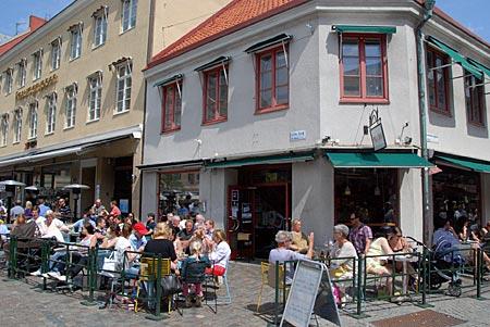 Schweden - Malmö - Cafes und Kneipen am Lille Torg