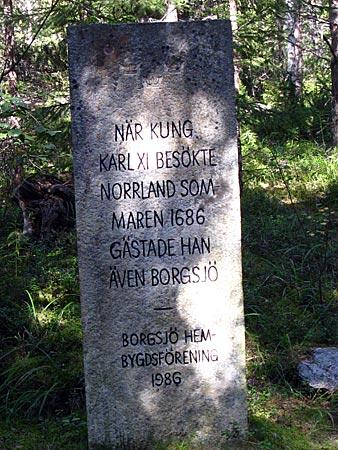Schwedische Geschichte am Wegesrand: der Besuch Karls XI in der Gegend