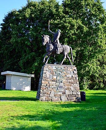 Olav Haraldson Heldenverehrung in Stiklestad