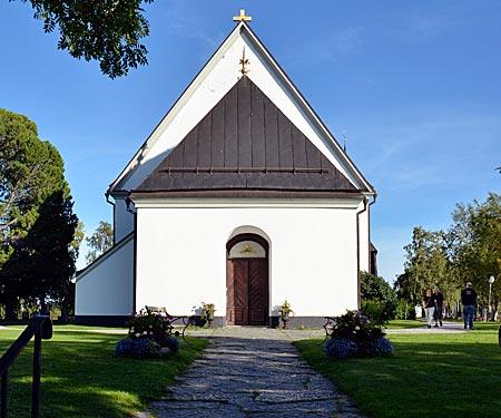 Schweden - Die Kirche von Frösö