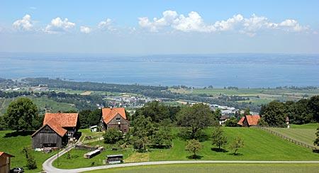 Schweiz - Appenzeller Witzweg - Panoramablick