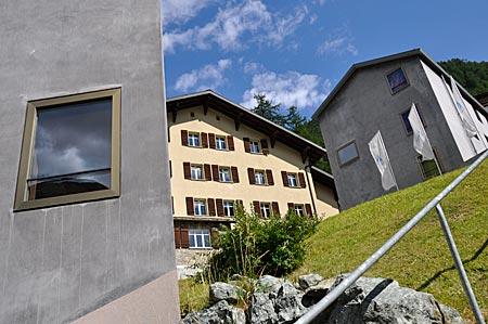 Design-Jugendherberge Zermatt, Wallis, Schweiz