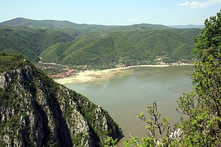Serbien - Donauradweg - Landschaft