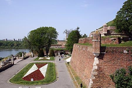 Serbien - Belgrader Festung im Kalamegdan-Park